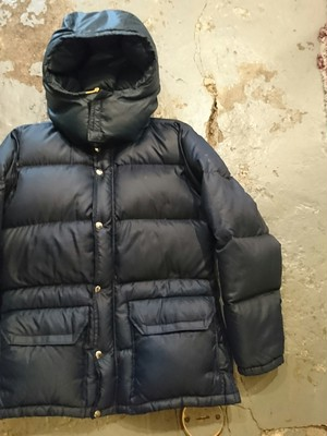 "70〜80s ""THE NORTH FACE DOWN JACKET"" XS SIZE"