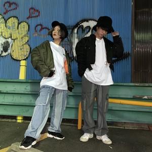 [即納]韓国ファッション ZIPクロップドMA-1