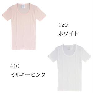 sirenemermaid(シレーヌマーメイド)スクープネック半袖Tシャツ(ロング丈)MWAB5003L