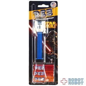 PEZ スター・ウォーズ R2-D2 黒台紙 未開封