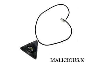 eye necklace / rainbow