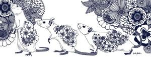 2020 Mouses Tenugui