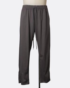 T/f jersey track pants - dark soot