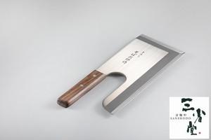 蕎麦切り包丁 手作りそば次郎作 モリブデンバナジウム鋼 245mm
