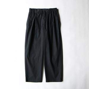 WR 2TACK WIDE PANTS - BLACK
