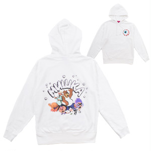 MISHKA WITH BEAR HOODIE (WHITE/EXWD1003HWHT)