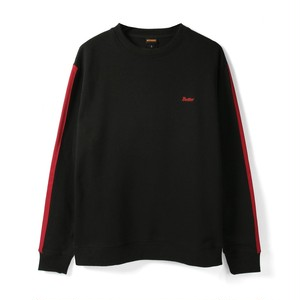 BUTTER GOODS BRISTOL CREWNECK SWEAT SHIRT BLACK