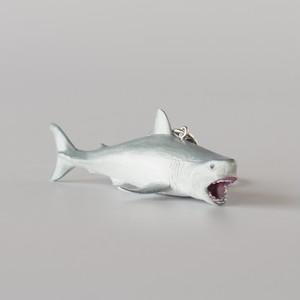 "Animal Keyring ""Great White Shark"" アニマルキーリング ""ホホジロザメ"""