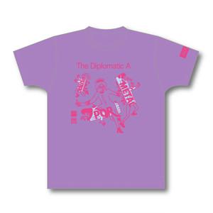赤船来航ツアー T-shirt(lavender)