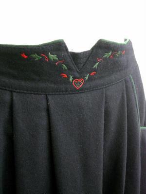 ヨーロッパ  Vintage チロルスカート  [テレサ] sk0212