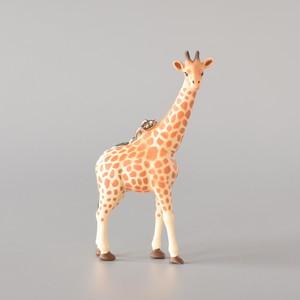 "Animal Keyring ""Giraffe"" アニマルキーリング ""キリン"""