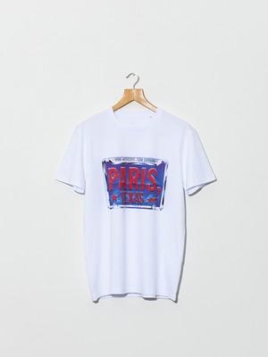 IDEA PARIS, TEXAS License Plate T-shirt