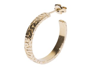 Brain Hoops Piercing-Jewelry(M)【Round、Square】Gold-Coating