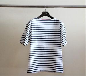 ≪CHANTECLAIR別注≫マリンTシャツ (ホワイト×ネイビー)