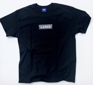 "Laggamind(ラガマインド)""【Laggamind ラガマインド Bandana Box Logo Tee】""[BLACK]"