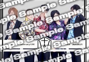 【ブロマイド】3周年記念ライブ限定特典ブロマイド 1部ver.&2部ver.セット(2種入り)