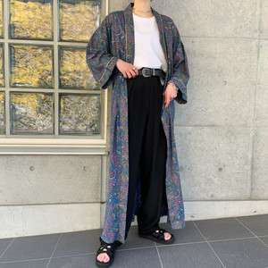60's〜70's Vintage Cotton Rayon Gown