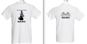 (値下げ!在庫限り)Tシャツ(MARO Ver. デラックス)(前胸&後背部)