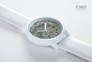 メンズ 森の腕時計 ストーン ホワイト [並行輸入品]