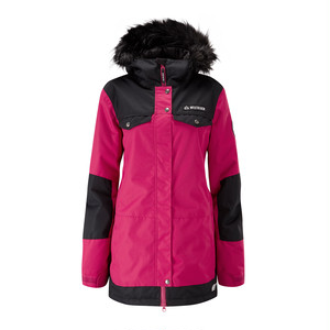 Cloudburst Jacket -Cherry-