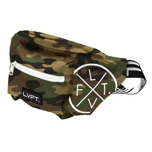 LIVE FIT Waist Packs- Green Camo