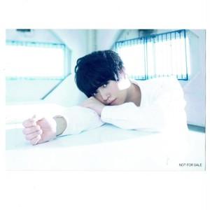 斉藤壮馬 ブロマイド CD「夜明けはまだ/ヒカリ断ツ雨」アニメイト特典