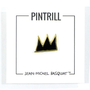 Jean - Michel Basquiat - Crown Pin (BLACK)