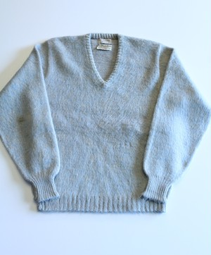 1960's Vintage Mohair V-neck Sweater