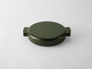 ovject/ENAMELED CAST IRON PAN