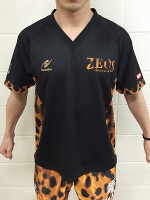 ZEOSオリジナルゲームシャツ ヒョウ柄