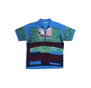reversible linen shirt (blue)