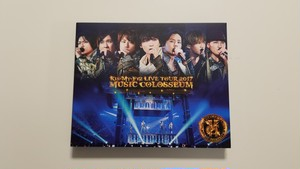 Kis-My-Ft2 LIVE TOUR 2017 MUSIC COLOSSEUM 初回特典あり 【Blu-ray】