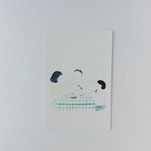 ポストカード 記憶の食卓
