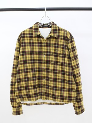 Used UNDER COVER Check down shirt