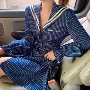 uniform stripe dress