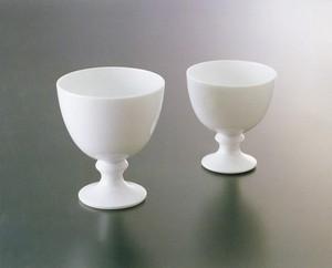 No.89【井上萬二窯作】白磁ワインカップ(小)