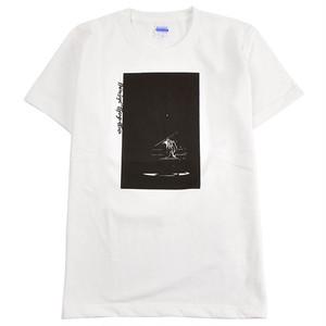 DairoSuga x DjangoAtour/コラボTシャツ/ホワイト/グレー
