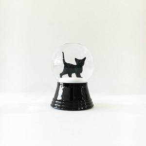黒猫 A スノードーム PERZY社 S