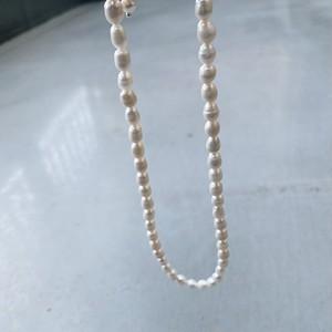 F0067[mini baroque pearl necklace]