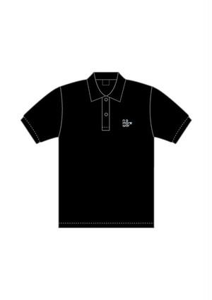 nomorewarポロシャツ【ブラック】