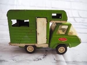 品番1025 TONKA キャンピングカー グリーン ミニカー ダイキャスト ブリキ ヴィンテージ