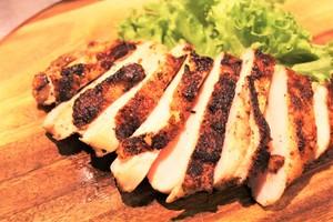 【メインディッシュ1食】真空調理  愛媛県産チキンのガーリックスパイス焼