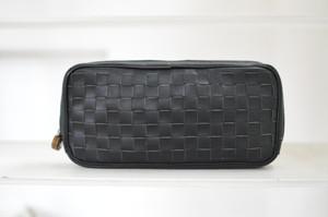 編み込みコンパクトクラッチ (サンプル品)
