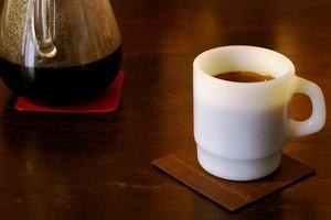 床革のコースター② 菱目ライン(革色:全5色)1枚680円~【受注生産】【送料込み】