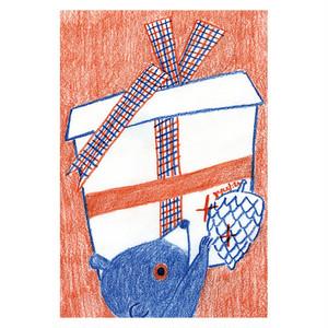「プレゼント」ポストカード