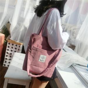 【バッグ】カジュアル大容量アルファベットファスナー斜め掛けショルダーバッグ37350294