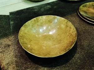 お皿 BRASS 丸深皿(小)