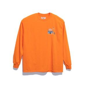KUNCHI  TEE  LONG - safety orange <HOLLAND>