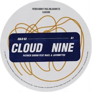 """【残りわずか/12""""】Patrick Gibin - Cloud Nine (feat. MdCL & Javonntte)"""