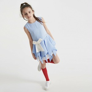 JESSIE AND JAMES【ZIGZAG DRESS =POWDER BLUE=】
